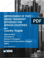 Port Cargo Transport Efficiency