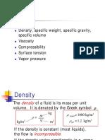 Lecture Fluid Properties
