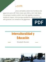 Interculturalidad y Educación