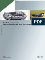 SSP 646 Audi A4 Type 8W Vehicle Electrics and Electronics