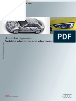 SSP 646 Audi A4 Type 8W Vehicle Electrics and Electronics