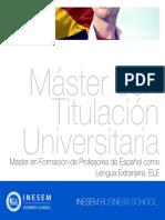 Master Espanol Para Extranjeros