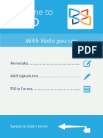 Getting Started Guide for XODO