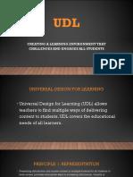 udl powerpoint slide