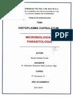 Histoplasma Capsulatum Micro