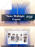 "Luis Benshimol - ""Soto Múltiple"", En Cayón"