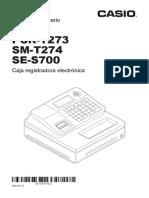 Manual Casio Pcr-t273