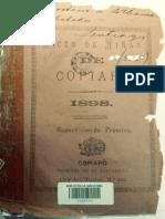 Liceo de Niñas de Copiapo 1898