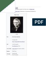 referat Marie Curie