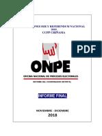 Informe Final Chochope Adjunto Informe de Capacitador
