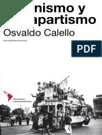 Calello, Osvaldo - Peronismo y Bonapartismo
