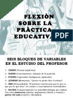 Reflexion Sobre La Practica Educativa