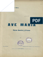 AVE MARIA. Maria Luisa Sepulveda
