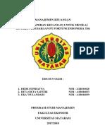 Tugas Manajemen Keuangan 2