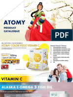 Atomy Product Catalog New