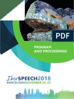 IberSPEECH 2018 Proceedings