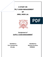 Supply Chian of AMUL