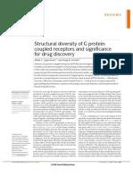 Structural Diversity GPCRs