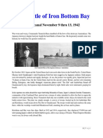 Mil Hist - WWII First Battle of Iron Bottom Bay