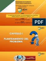Diapositivas - Marketing Relacional y el Posicionamiento de la Empresa Arabella Beauty Center S.R.L., Huánuco - 2018 .