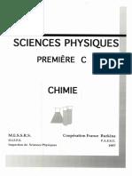 Chimie Première C