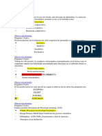 FUNDAMENTOS DE PSICOLOGIA EXAMEN FINAL SEMANA 8