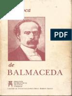 La Época de Balmaceda