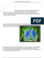 Chest Pt in Copd