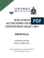 Umac Masc2017 Dd1 Proposal