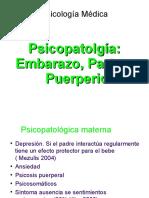D)Psicopatolgia Embarazo, Parto y Puerperio