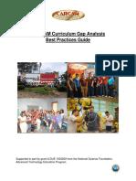 Curriculum Gap Analysis Best Practice