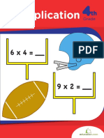 Master Multiplication Workbook