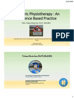 1. Physiotherapy in Elderly People & Evidence Base Practice