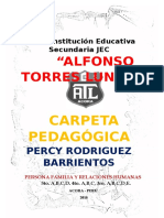 Carpeta Pedagogica Word