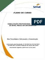 Plano de Curso - Técnico Em Informática - Senac