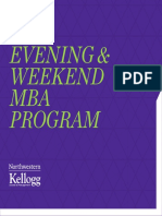 Kellogg Evening Weekend MBA Viewbook