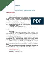 Plano de Estudos. PRF