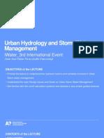 Urban Hydrology