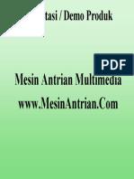 Mesin Antrian Presentasi Power Point
