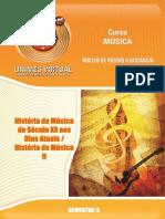 463_História Da Música Do Século XX Aos Dias Atuais_História Da Música II