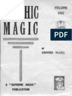 Ormond Mcgill - Psychic Magic Complet