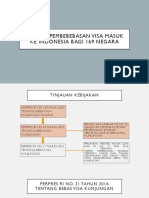 Dampak Pembebebasan Visa