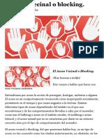El acoso vecinal o blocking. | GuijarroPique.com