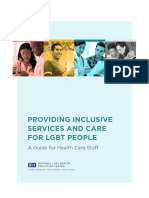 Providing Inclusive Services and Care for LGBT People