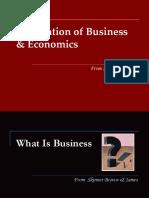 1. Foundation of Business & Economics