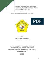 Ngt, Lavage Lambung, Perawatan Luka Kolostomi, Sitz Bath, Pemberian Nutrisi Parenteral Total, Rehidrasi Oral