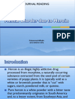 Mental Diorder due to Heroin.ppt