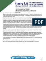 Method Statement OCT 2017