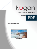 "KOGAN Kaled55xxxwc 55"" LED tv"