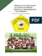 askep OSTEOMIOLITIS DAN BURSITIS